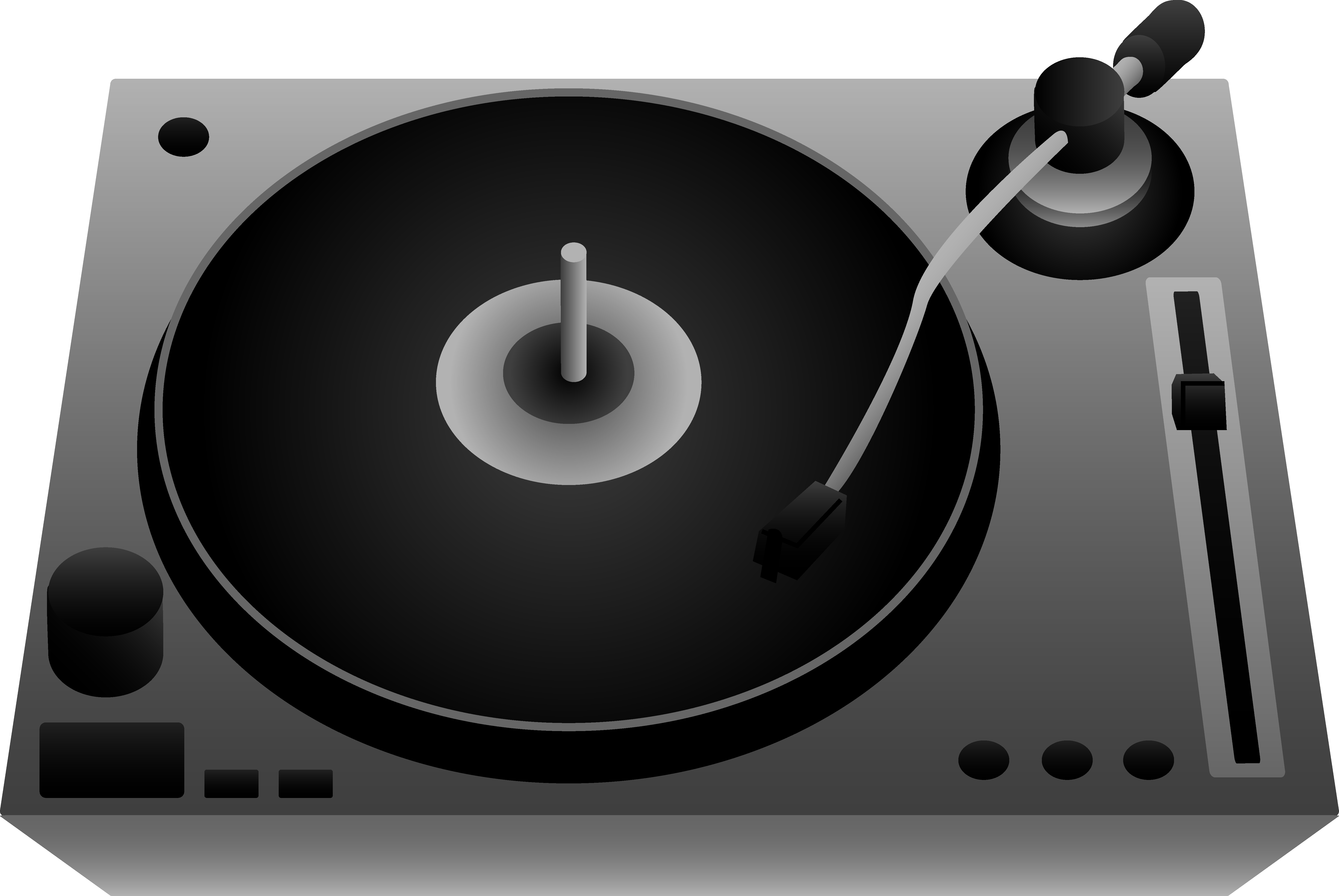 Turntables PNG Cliparts #2640171 - Turntable HD PNG