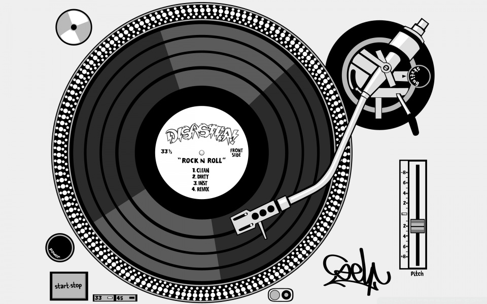 Wide 16:10 - Turntable HD PNG