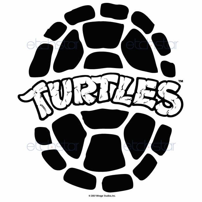 pin Turtle clipart logo png #8 - Teenage Mutant Ninja Turtles PNG Black And  White - Turtle Shell PNG HD