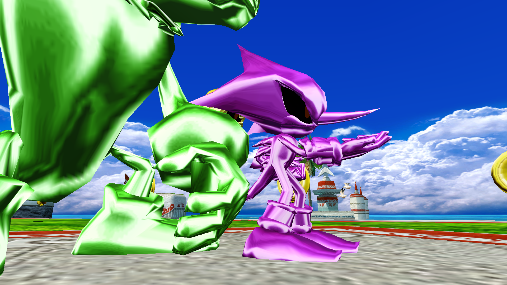 SH Turtle Shell Metal Team Chaotix.png - Turtle Shell PNG HD