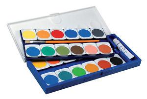 Das Bild wird geladen LYRA-Deckfarbkasten-24-Farben-Malkasten-Farbkasten- Tuschkasten-Pinsel - Tuschkasten PNG