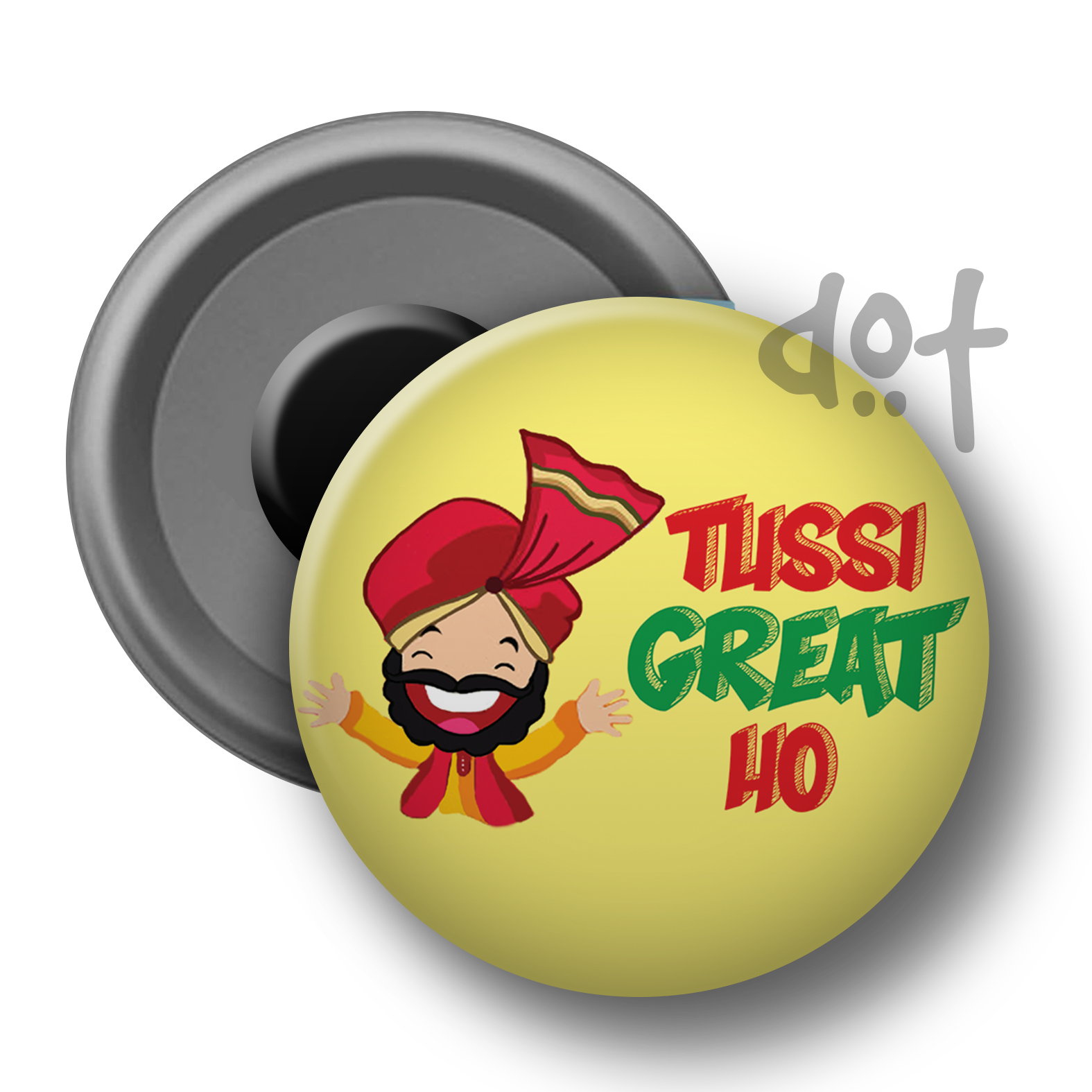 tussi great ho magnet mockup - Tussi PNG
