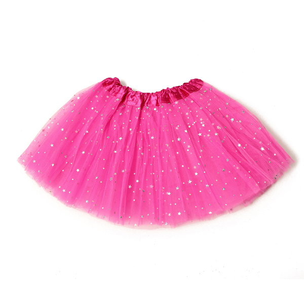 Baby Girls Princess Sequins Ballet Dance Tutu Skirt - Tutu Skirt PNG