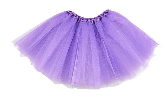 Purple tutu net skirt - Tutu Skirt PNG