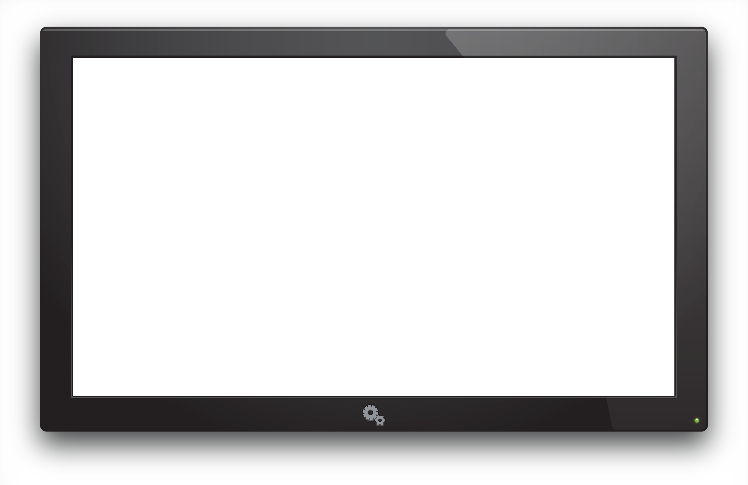 Old TV PNG