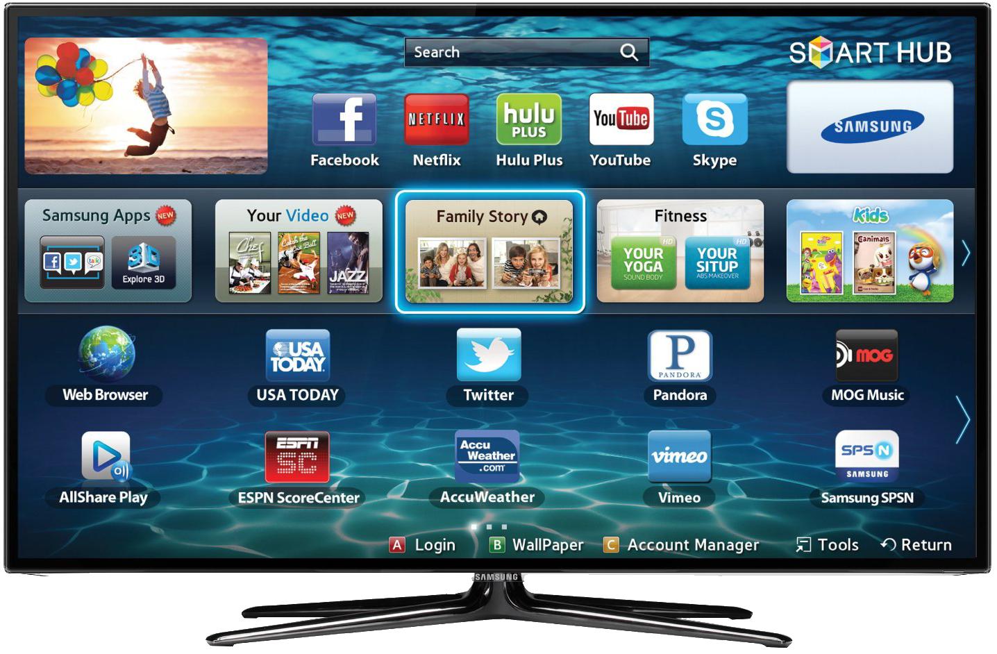 SamsungLedTV - Tvs PNG