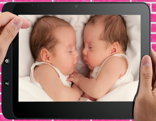 . PlusPng.com Cute Twin Baby Photo screenshot 2 PlusPng.com  - Twin Baby PNG HD