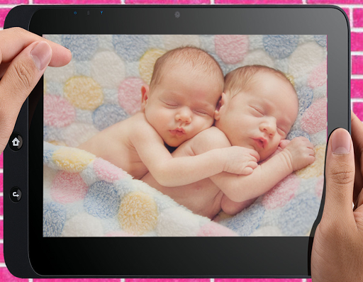 . PlusPng.com Cute Twin Baby Photo screenshot 3 - Twin Baby PNG HD