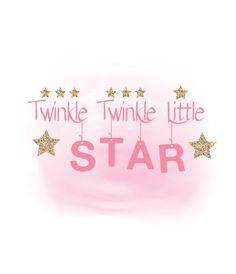 Twinkle twinkle little Star clipart, Girls room Quote Word Art, Digital  Cutting File, Clipart in Svg Dxf Png Jpeg Cricut u0026 Silhouette - Twinkle Twinkle Little Star PNG