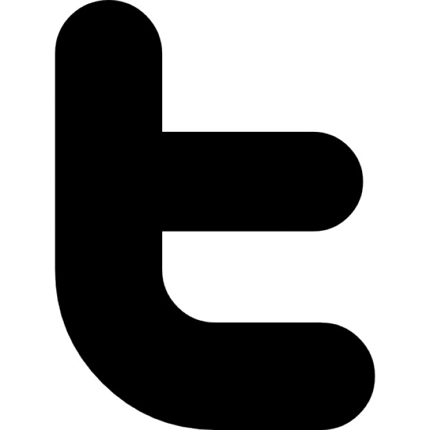 Twitter letter logo Free Icon