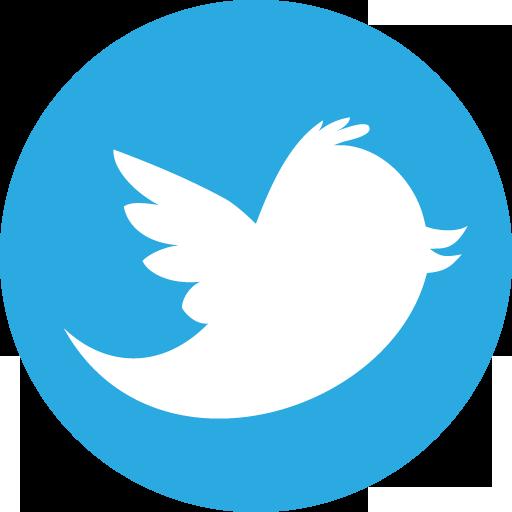 Twitter Basic Round Social Icon Logo Image #65 - Twitter PNG Logo