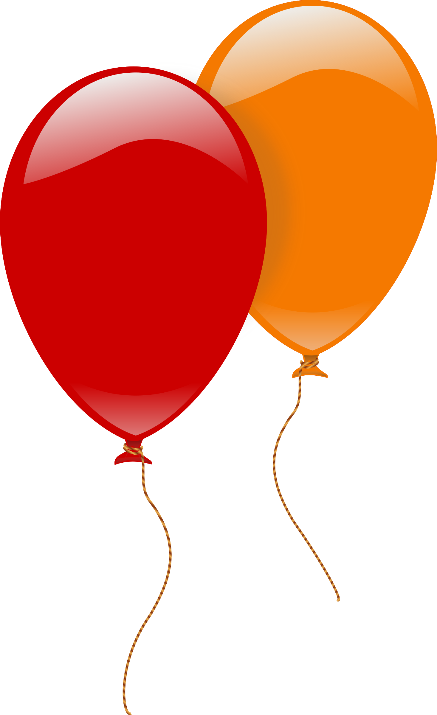 This free Icons Png design of two ballons PlusPng.com  - Two Balloons PNG