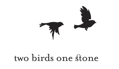 Two Birds PNG Black And White - 149091