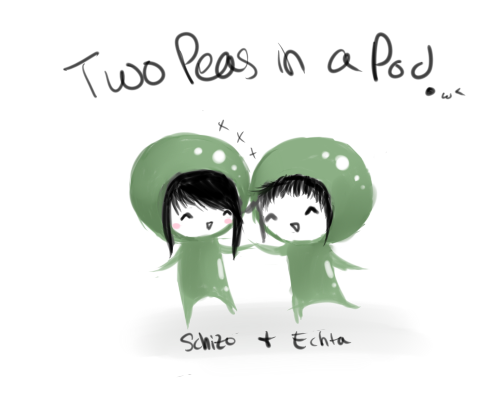 Two Peas in a Pod by akikue PlusPng.com  - Two Peas In A Pod PNG