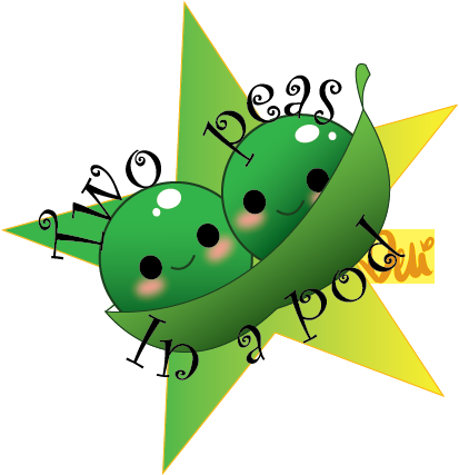 Two Peas in a Pod by ibold PlusPng.com  - Two Peas In A Pod PNG