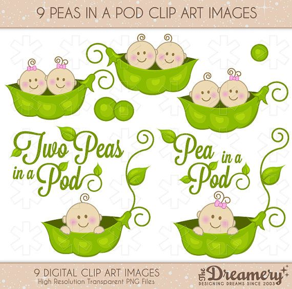 Two peas in a pod clipart - Two Peas In A Pod PNG
