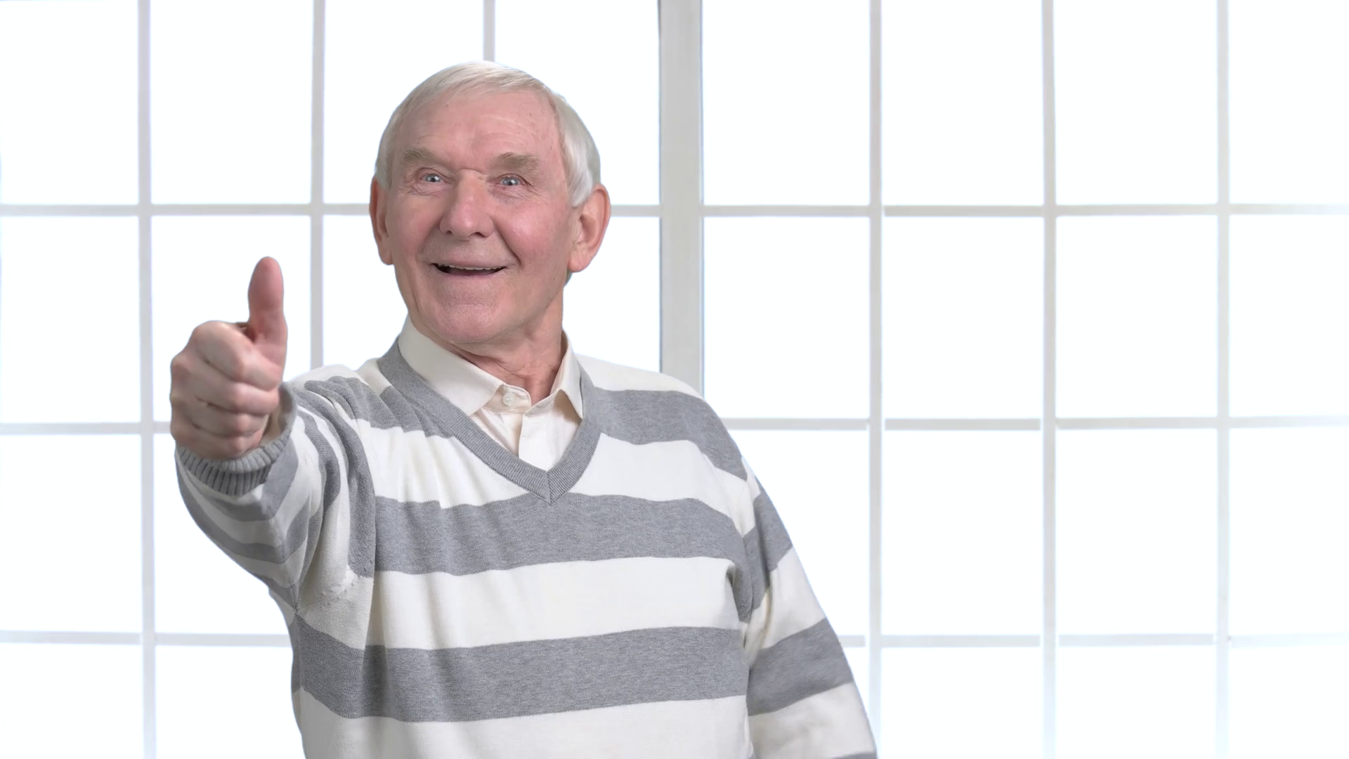 Cheerful senior showing two thumbs up. Excited happy old man gesturing thumb  up with two hands, office window background. Stock Video Footage -  VideoBlocks - Two Thumbs Up PNG HD