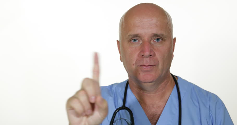 Closeup Image Doctor Interview Negation Giving Nope Advice Finger Sign  Negative ( Ultra High Definition, - Two Thumbs Up PNG HD