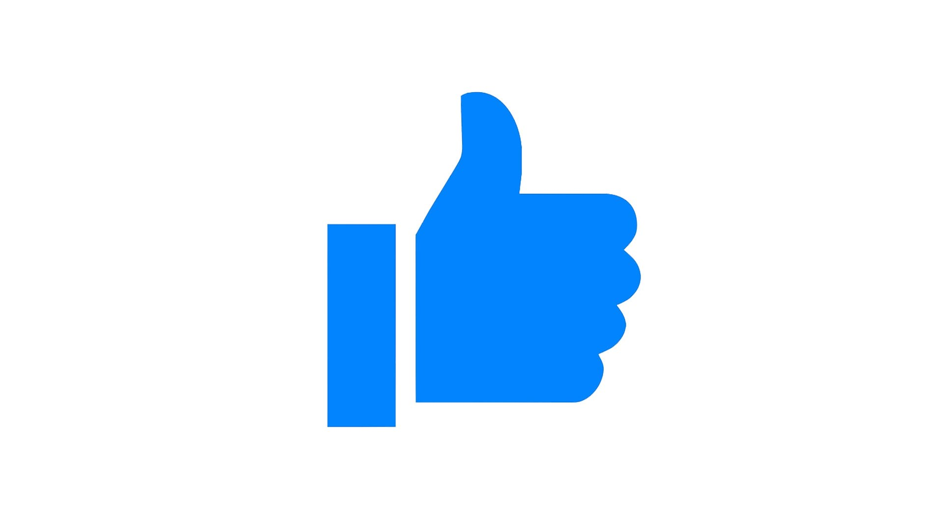 Facebook Messenger Thumb Up Animation: Leave a like for Youtube Channel -  FREE Download - YouTube - Two Thumbs Up PNG HD