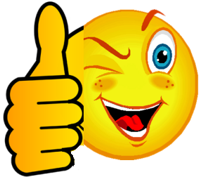 smiley face thumbs up thank you - Two Thumbs Up PNG HD