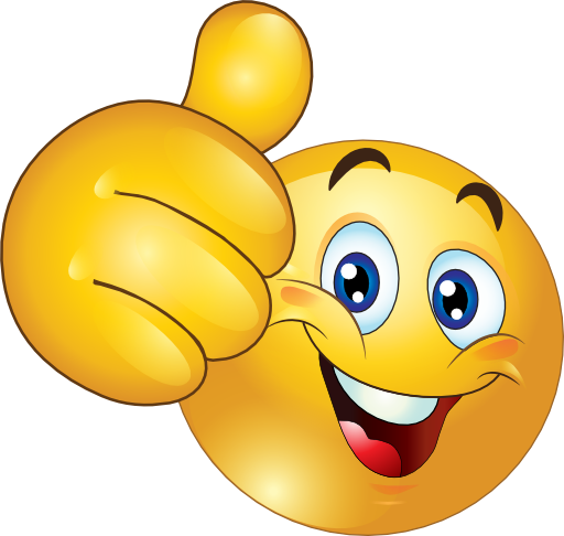 Thumbs Up Happy Smiley Emoticon Clipart Royalty Free - Two Thumbs Up PNG HD
