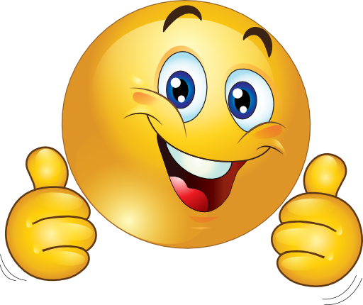 Two Thumbs Up Happy Smiley Emoticon Clipart Royalty . - Two Thumbs Up PNG HD