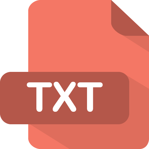 Document text file txt