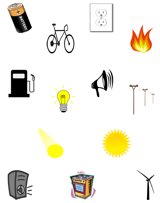 Types Of Energy PNG - 81217