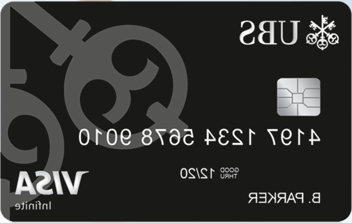New Luxurious Credit score Card from UBS - Ubs PNG