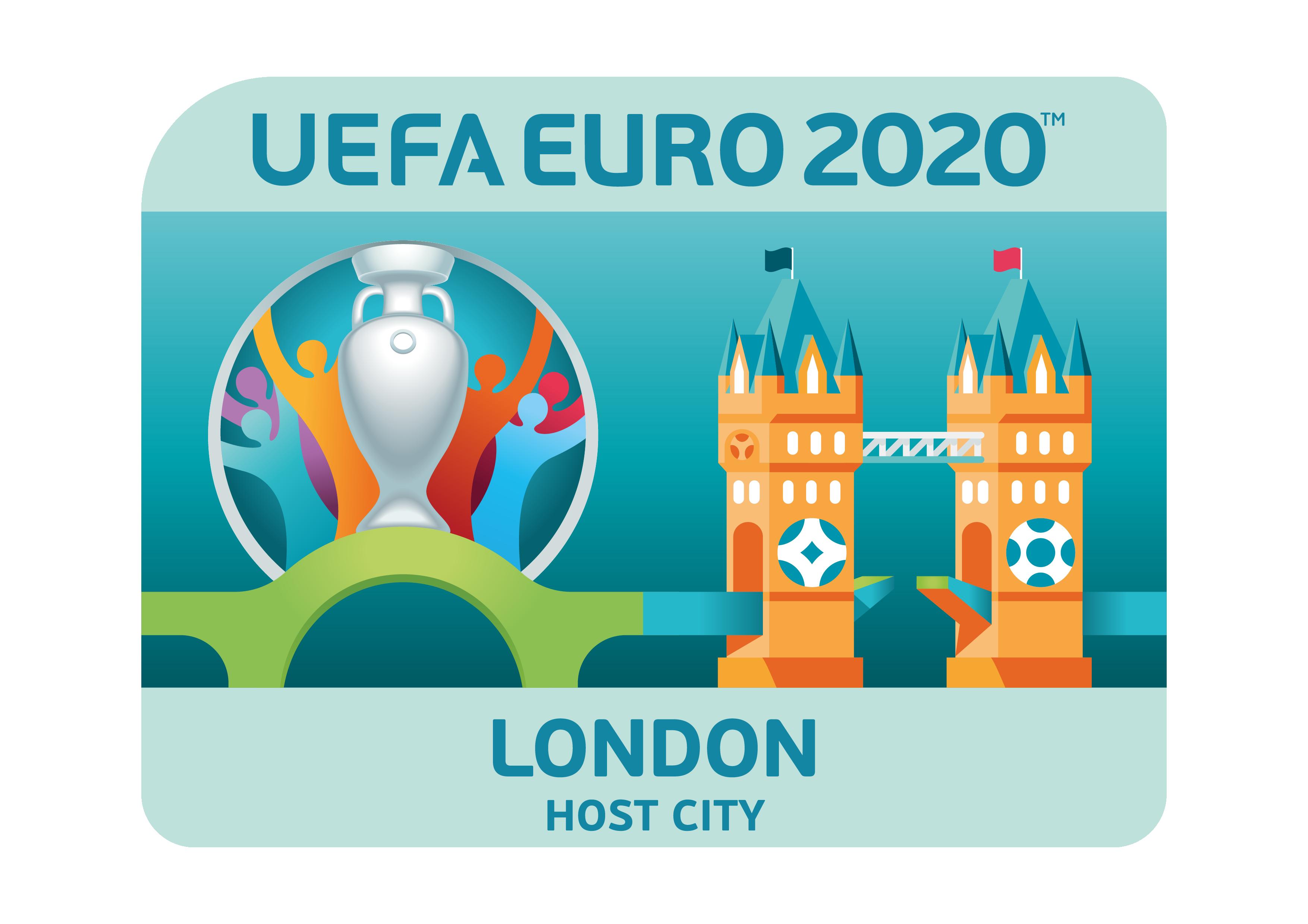 UEFA EURO 2020 host city logo: London