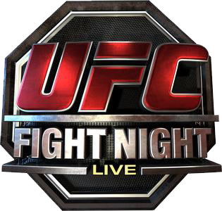 Ufc-fight-night-live.png - Ufc PNG