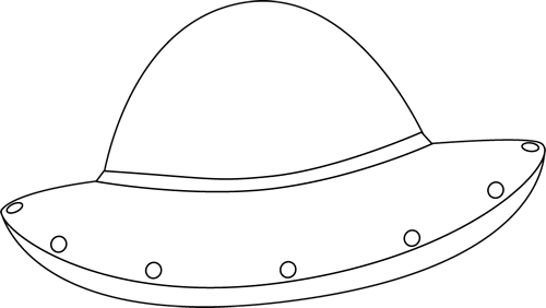 Black and White UFO - Ufo PNG Black And White
