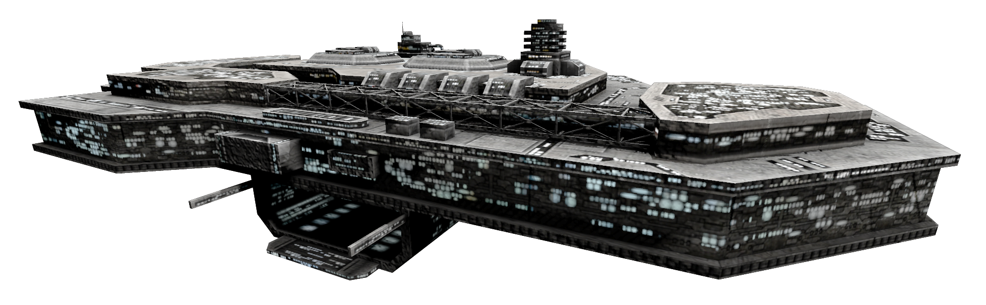 Spaceship Station 4_0@2x.png (1924×596) - Ufo PNG HD