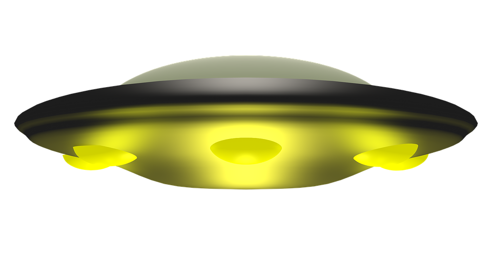 Ufo Space Alien 3D Rendering Spaceship Fan - Ufo PNG HD