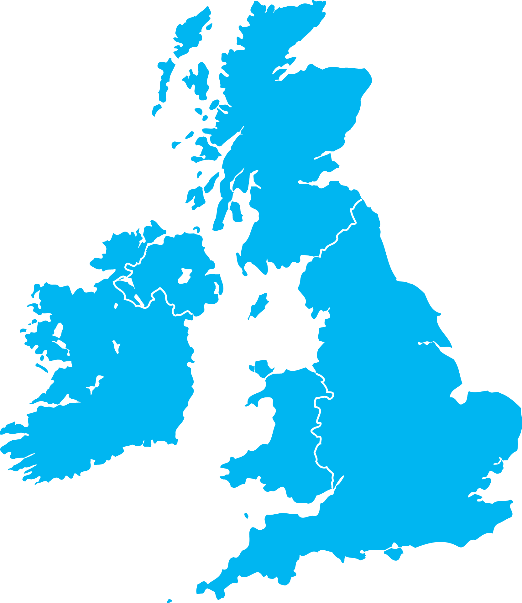 UK_map - United Kingdom PNG