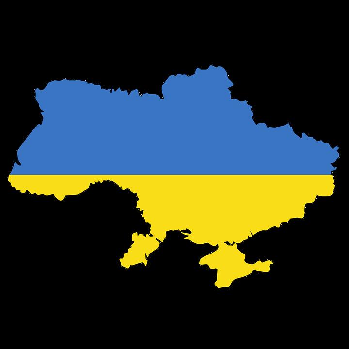 Ukraine, Crimea, Map, Flag, Contour, Borders, Country - Ukraine PNG