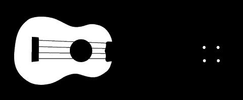 Ukulele - Ukulele PNG Black And White