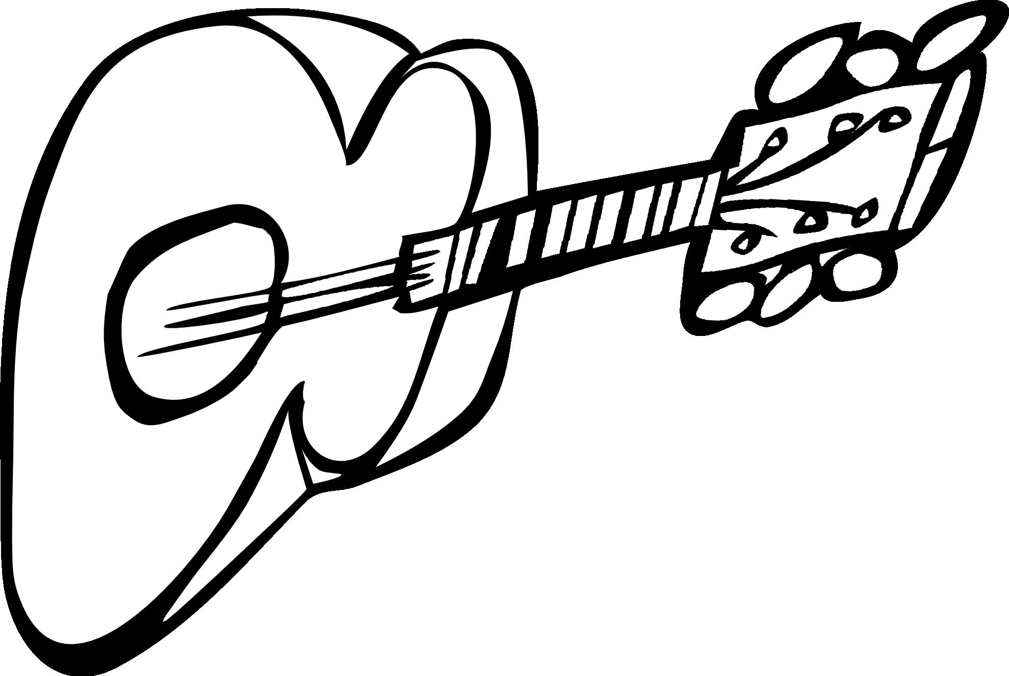 Ukulele Cliparts Black #2613584 - Ukulele PNG Black And White