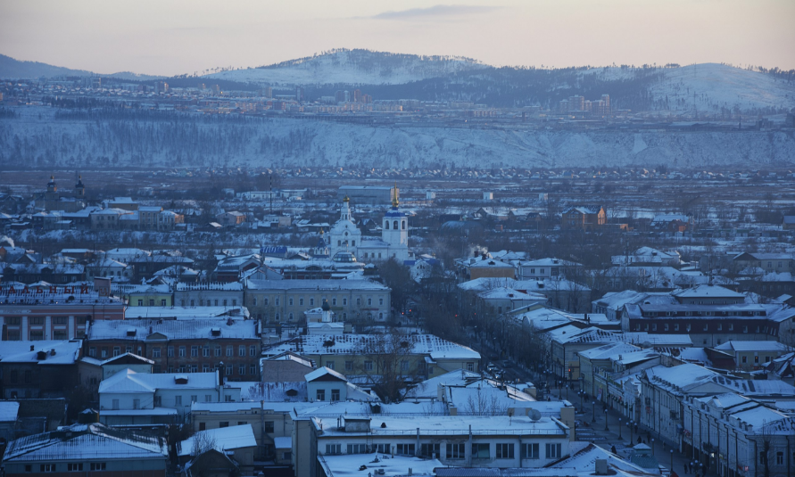 File:Center of the Soviet district of the city of Ulan-Ude.png - Ulan PNG