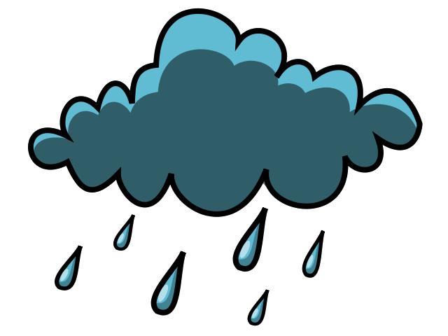 rain cloud clipart - Ulan PNG