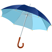 Blue Umbrella PNG