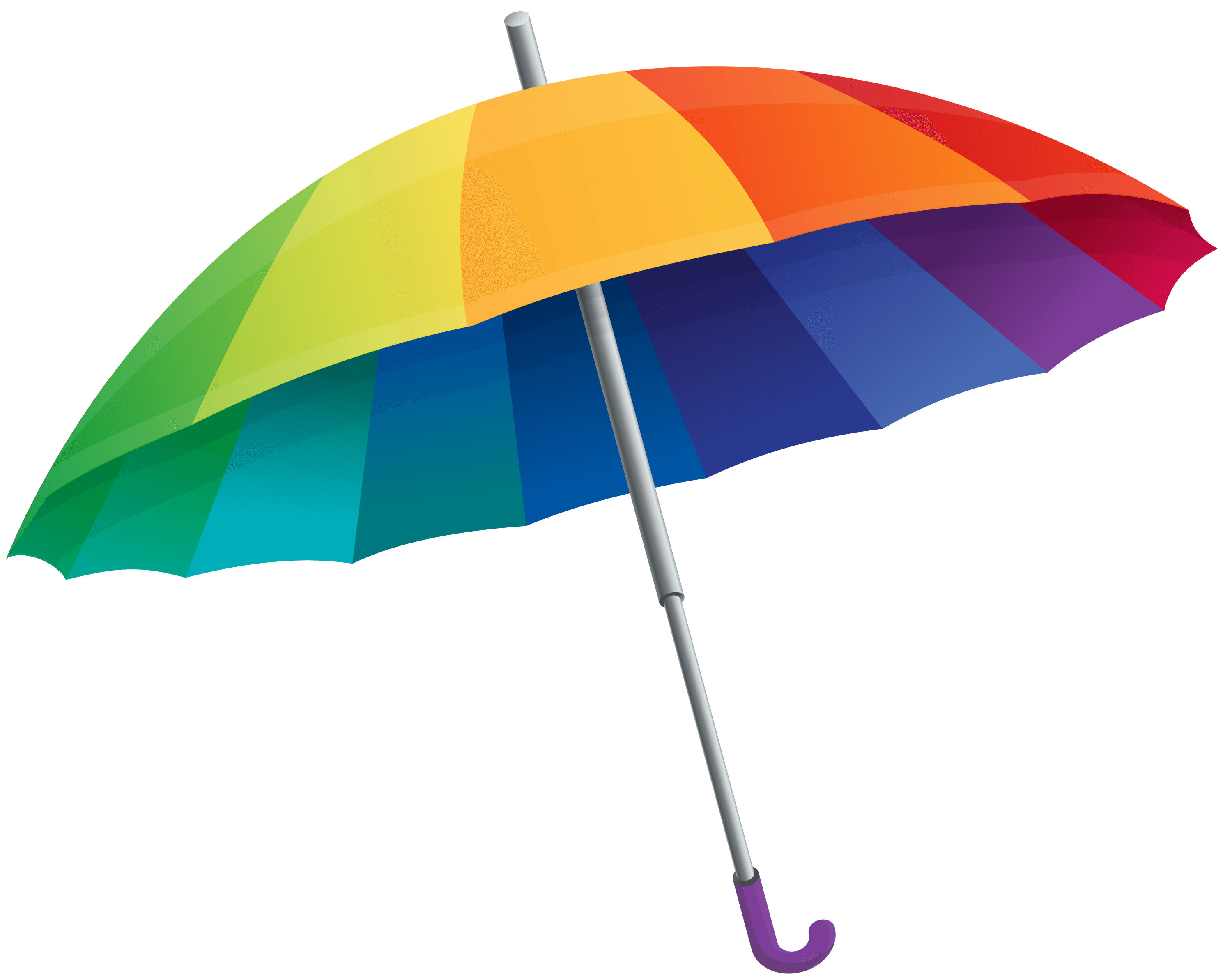 Umbrella, Rainbow, Colorful,