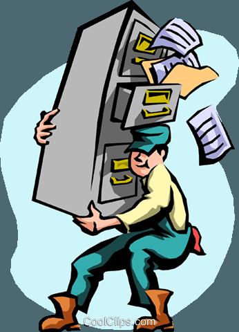 Umzug Vektor Clipart Bild - Umzug Cartoon PNG