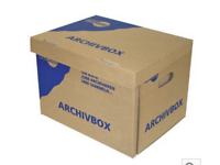Archiv-/ Umzugskartons klein Hornbach 7-er Pack (ges. 14 Stk) - Umzugskartons PNG