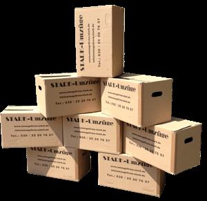 Profi-Speditions-Bücherkarton Stark Umzugskartons - Umzugskartons PNG