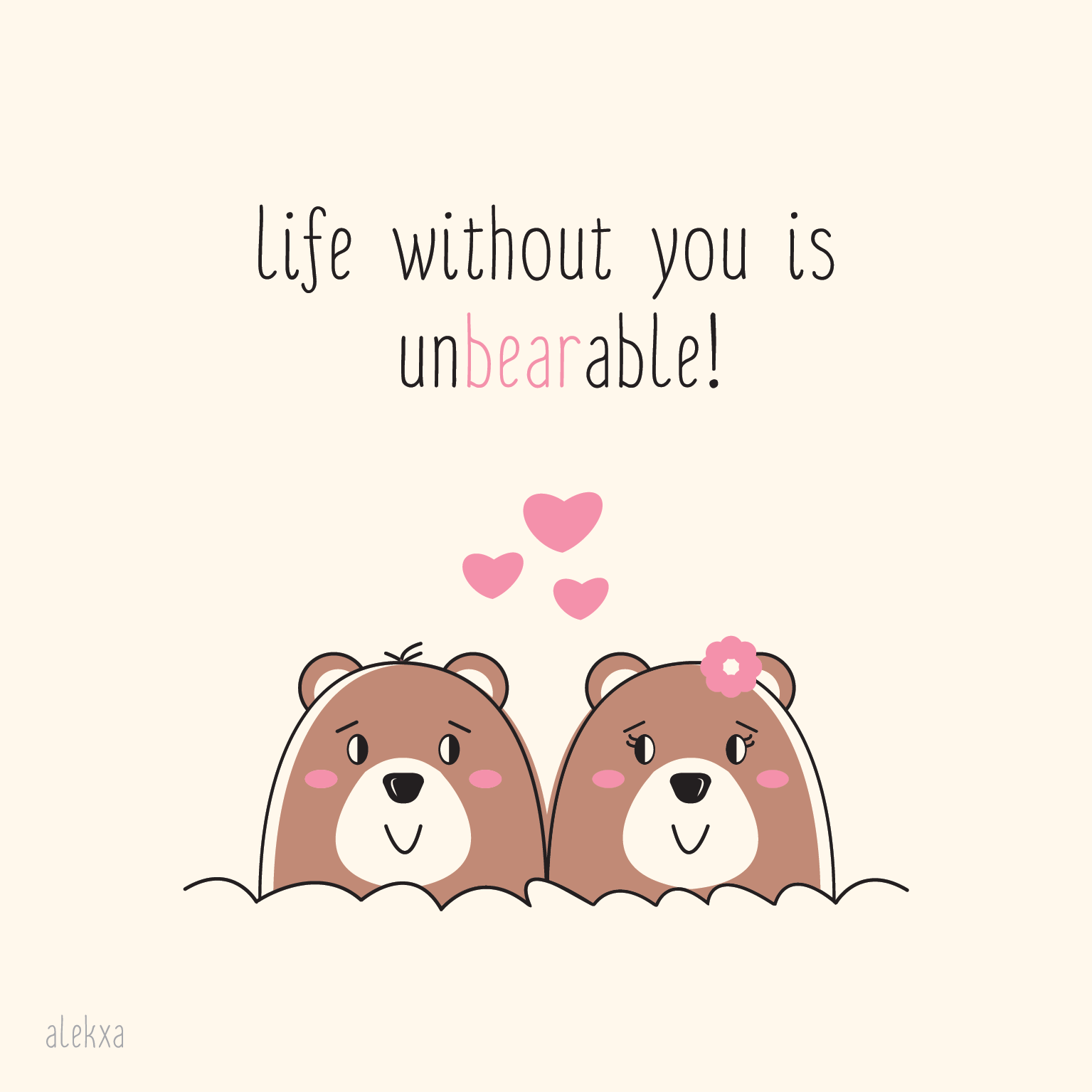 Life Without You Is unbearable - Unbearable PNG