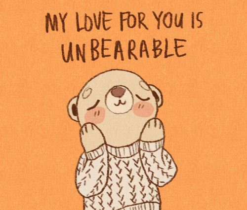 My love for you is unbearable - Unbearable PNG