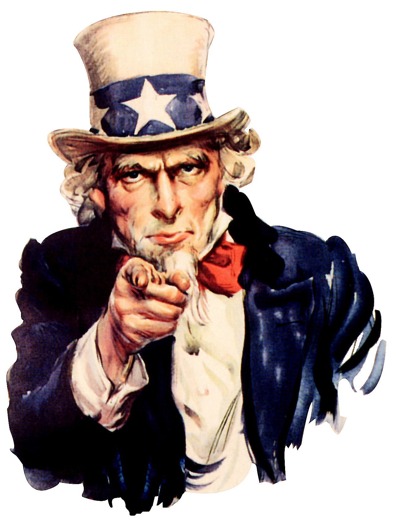 Uncle Sam I Want You PNG