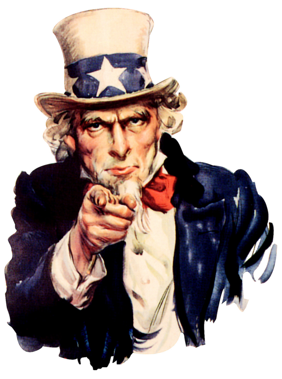 Uncle Sam I Want You PNG - 84837