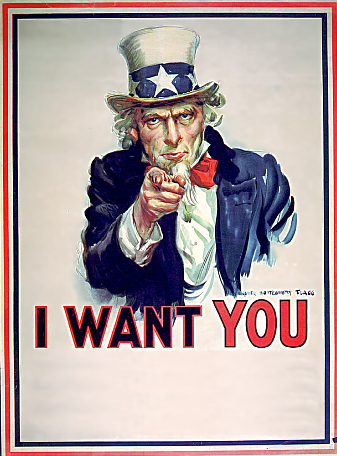 Uncle Sam I Want You PNG - 84842